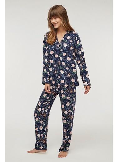 Penti Flowers In Sky Pijama Takımı Renkli